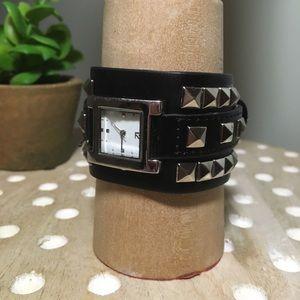 Accessories - [Unknown Brand] Punk Studded Watch